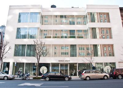 Giorgio Armani Madison Avenue NYC